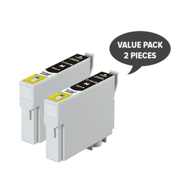 2 x 73N / T0731 Pigment Black Compatible Inkjet Cartridge