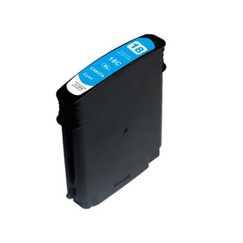 HP Compatible 18 #18 High Yield Cyan Compatible Inkjet Cartridge