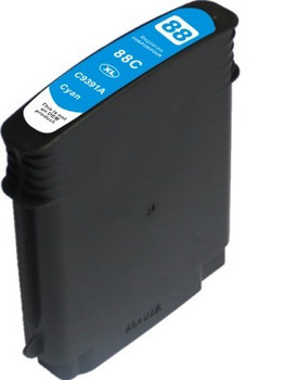HP Compatible 88XL Cyan CC9391A Compatible Inkjet Cartridge