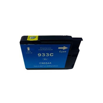HP Compatible 933XL Cyan Compatible Cartridge with Chip