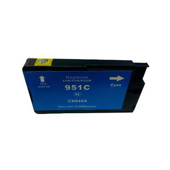 HP Compatible 951XL Cyan Compatible Cartridge with Chip