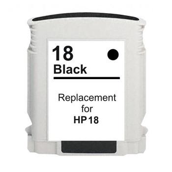 HP Compatible 18 #18 Black High Capacity Remanufactured Inkjet Cartridge