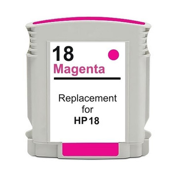 HP Compatible 18 #18 Magenta High Capacity Remanufactured Inkjet Cartridge