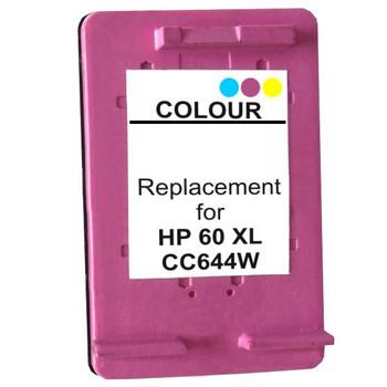HP Compatible 60XL Color Remanufactured Inkjet Cartridge
