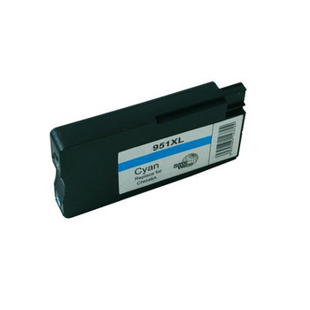 HP Compatible Remanufactured HP 951XL Cyan Cartridge