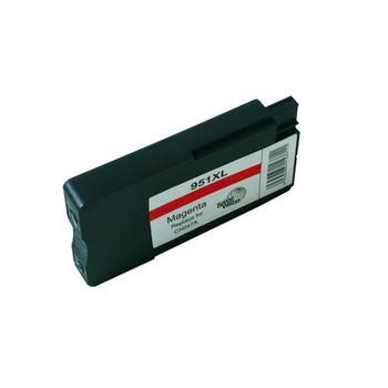 HP Compatible Remanufactured HP 951XL Magenta Cartridge