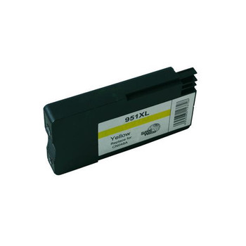 HP Compatible Remanufactured HP 951XL Yellow Cartridge