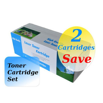 TN-340 Magenta High Yield Generic Toner (Set of 2)