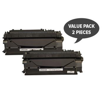 Cart320 Black Premium Generic Toner x 2