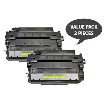 HP Compatible CE255X #55X Premium Generic Toner X 2