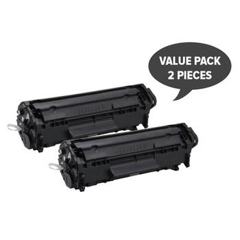 HP Compatible Q2612A #12A Cart-303 Premium Generic Toner (Set of 2)