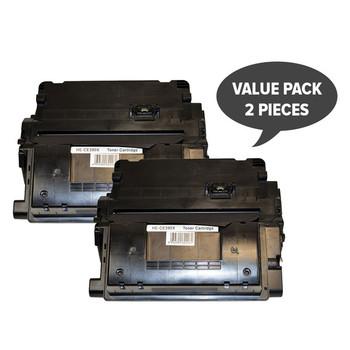 HP Compatible CE390X Premium Generic Laser Cartridge x 2