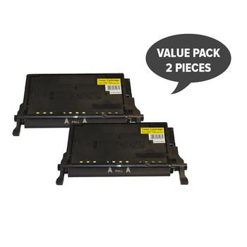 CLT-Y508L Premium Generic Yellow Toner (Set of 2)
