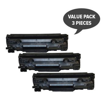 HP Compatible CE278 HP #78A Cart326 Black Generic Toner (Set of 3)