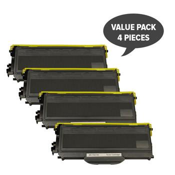 TN-2150 TN360 Black Premium Toner (Set of 4)