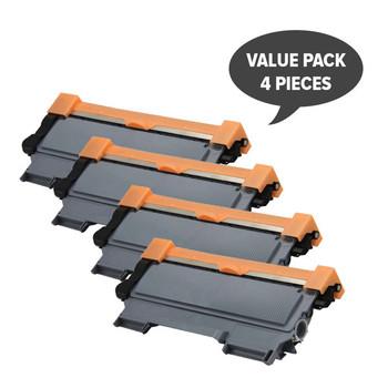TN-2250 Black Premium Generic Cartridge (Set of 4)