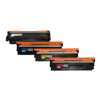 HP Compatible CE270B #650A Series Cart 322 Premium Generic Toner Set