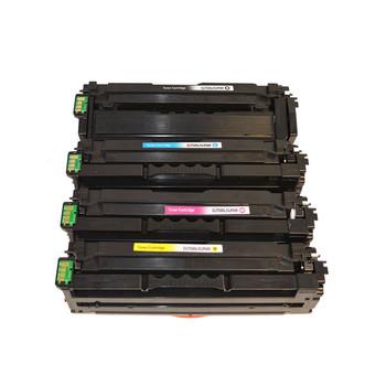 CLT-506L Premium Generic Remanufactured Toner Cartridge Set (4 cartridges)
