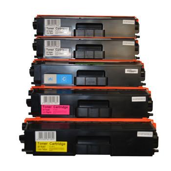 TN-346 Series Premium Generic Toner Set PLUS Extra Black