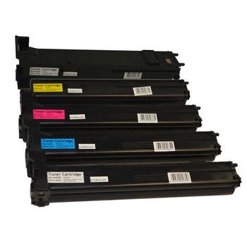 A0DK192 Series Premium Generic Toner Cartridge PLUS extra Black set (5 cartridges)