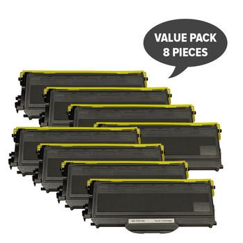 TN-2150 TN360 Black Premium Toner (Set of 8)
