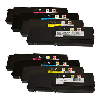 3760 Series Premium Generic Toner Set X 2