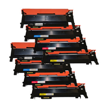 CLT-406 Series Premium Generic Colour Toner Set x 2