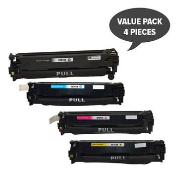 HP Compatible CF210 #131 Series Generic Toner Set of 4