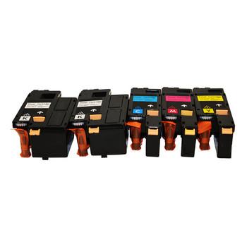 XEROX Compatible CP105/205 Premium Generic Toner Set of 5