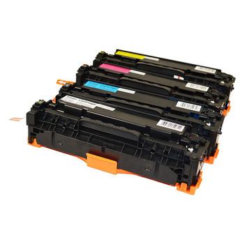 HP Compatible CC530 CART-318 Series Generic Toner Set