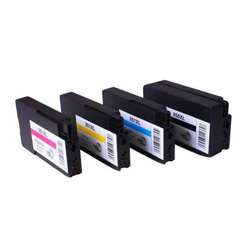HP Compatible 950XL 951XL Premium Compatible Inkjet Cartridge Set 4 Cartridges [Boxed Set]