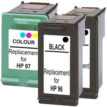 HP Compatible #96 Compatible Inkjet Cartridge Set #2 3 Cartridges