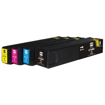 HP Compatible 970XL 971XLC 971XLM 971XLY Premium Generic Compatible Set