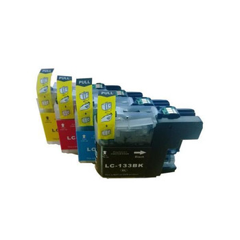 BROTHER LC133 Compatible Inkjet Cartridge Set 4 Ink Cartridges [Boxed Set]