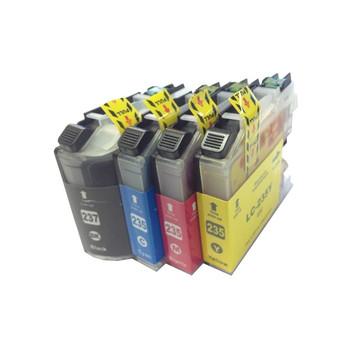 LC-237 LC-235 Premium Inkjet Compatible Set (4 Cartridges) [Boxed Set]