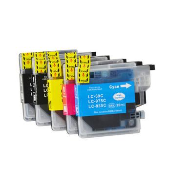 LC39 Compatible Inkjet Cartridge Set 5 Ink Cartridges [Boxed Set]