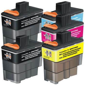 LC47 Compatible Inkjet Cartridge Set 5 Ink Cartridges