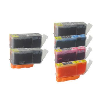 PGI-525 Compatible Inkjet Set 6 Cartridges [Boxed Set]