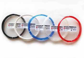 ABS Filament ClearScent ABS 2.85mm Transparent Red 50 gram 3D Printer Filament