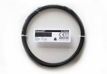 Carbon Fibre PETG Filament CarbonFil 2.85mm Black 50 gram 3D Printer Filament