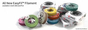 PLA Filament EasyFil PLA 1.75mm Light Grey 750 gram 3D Printer Filament
