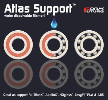 PVA Support Filament Atlas Support 1.75mm Natural 300 gram 3D Printer Filament