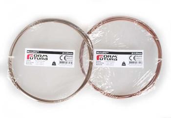 Copper feel PLA based filament MetalFil 2.85mm Ancient Bronze 50 gram 3D Printer Filament