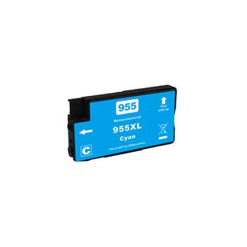 HP Compatible 955XL Cyan Premium Remanufactured Inkjet Cartridge
