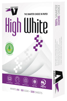 COPY PAPER VICTORY A4 80GSM HIGH WHITE BOX (35 REEMS, 7 BOXES)