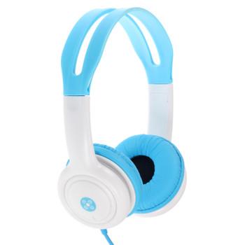 MOKI Volume Limited Kids Blue Headphones