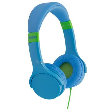 MOKI Lil' Kids Blue Headphones