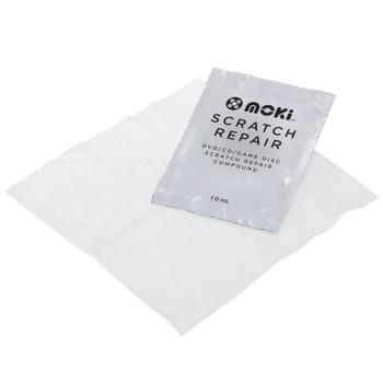 MOKI Scratch Repair - DVD/CD/Game Disc Scratch Repair Kit