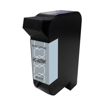 HP Compatible 45 Industrial Black Cartridge (TIJ 2.5) - Pigment Black Ink (Replacement for Versatile C8842A, Fast Dry W35B7A, CQ849A Durable Black)