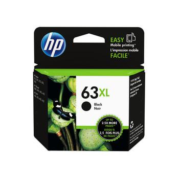 HP 63 Original Black High Yield Ink F6U64AA - 480 Pages